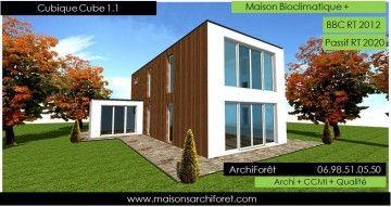 Maison Toit Plat Et Toiture Terrasse Bac Acier Ou Siplast Acrotere Et Couvertine Par Votre Architecte Cons En 2020 Maison Cubique Photo Maison Moderne Maison Toit Plat