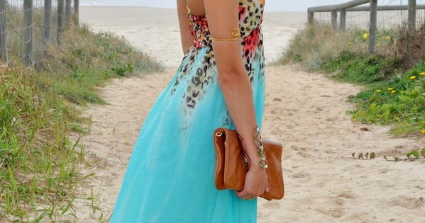 summer dress! Princess Jasmine , TEMT in Dresses, Tory Burch in Clutches