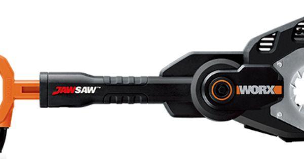 Worx Electric Jawsaw With Images Electric Chainsaw Pole Saw Electric Saw