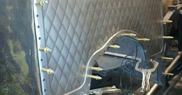 Bead Rolled Firewall Metal Fab Pinterest Diamonds