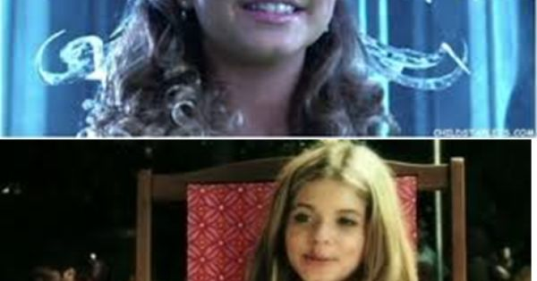 She was the ice princess from sharkboy and lavagirl before ...