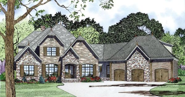 Craftsman european french country house plan 82164 for French country garage plans