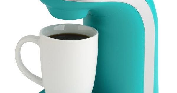 Kitchen selectives colors single serve coffee maker teal for Apartment therapy coffee maker