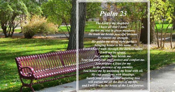 Psalm 23 psalms and psalm 22 on pinterest