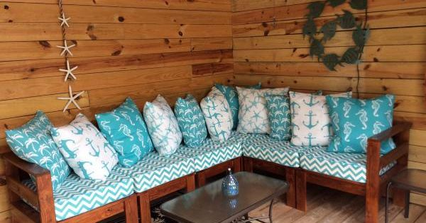 Poolside Sectional Do It Yourself Home Projects From Ana