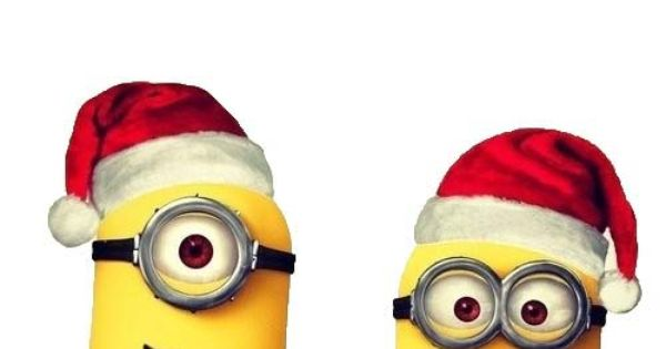 The Minions Wish You A Merry Christmas Minions