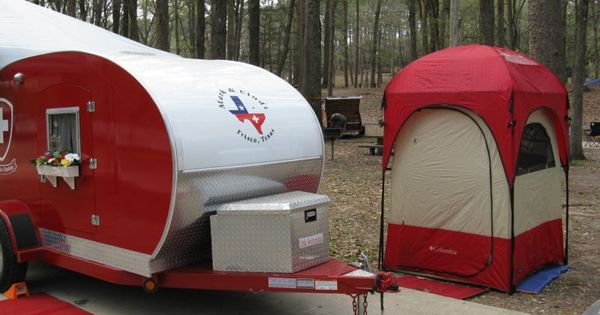 Teardrop Campers With Potty Teardrops N Tiny Travel