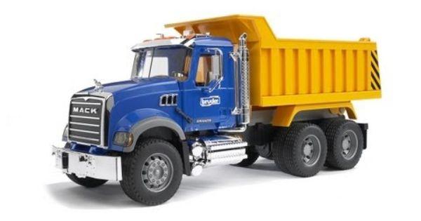 Bruder Toys Mack Granite Dump Truck 02815 Youtube Dump Trucks Mack Trucks Trucks
