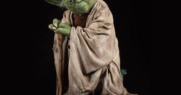 Star Wars Yoda Life Size Figure Figuras De Anime Figuras Star