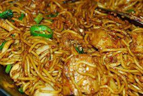 Resepi Mee Goreng Mamak Sedap Resep Masakan Malaysia Masakan Malaysia Makanan