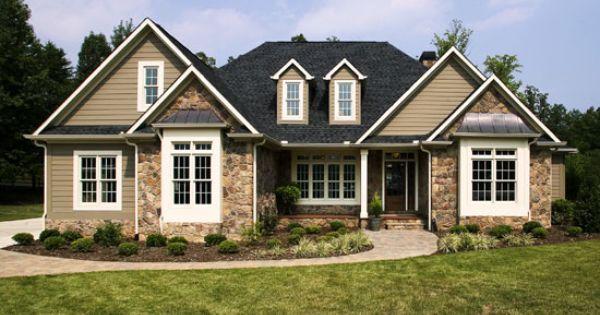 Exterior Building Materials Exterior Colors House Plans