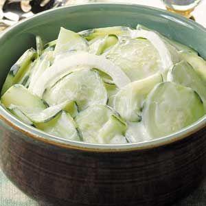 Sour Cream Cucumbers Recipe Sour Cream Cucumbers Recipes Creamed Cucumbers