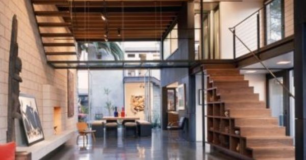 Modern living room by ehrlich architects dream home - Limposante residence contemporaine de ehrlich architects ...