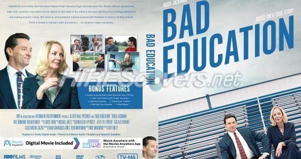 Bad Education 2019 Custom Dvd Cover In 2020 Custom Dvd Hbo Films Dvd Covers