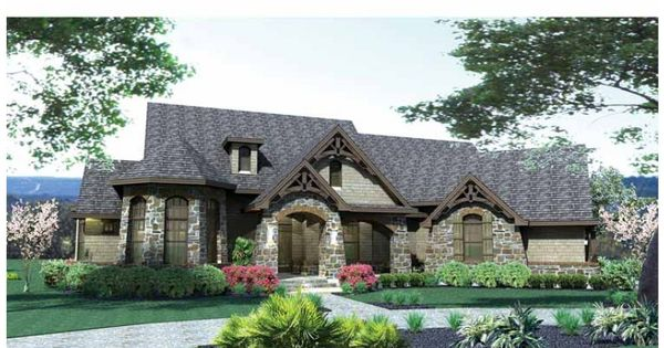 Eplans french country house plan european influence for Maison eplans