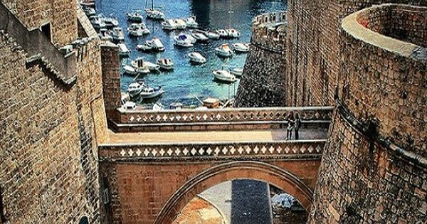 Dubrovnik, Croatia, a UNESCO World Heritage Site wanderlust travel adventure escape bliss