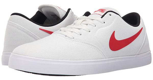 Nike Sb Check Canvas Nike Nike Sb White And Black