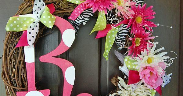 Cute - spring wreath