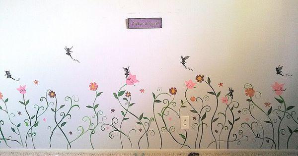 Fairy wall mural interior exterior design ideas for Fairy wall mural