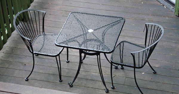 wrought iron patio chair costco