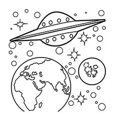 20 Solar System Coloring Pages For Your Little Ones Ausmalbilder