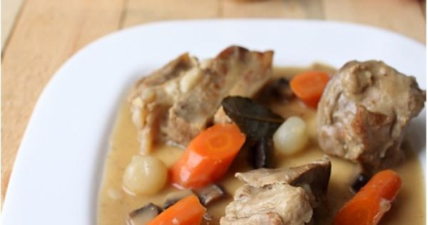 blanquette de veau 2 me version recipe french food and yum food. Black Bedroom Furniture Sets. Home Design Ideas