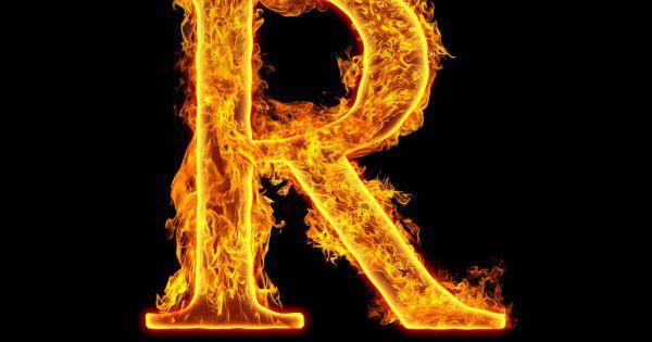 Fire Alphabet Letter R Isolated On Black Background Stock Image Alfabeto Com Fotos Logotipo Da Igreja Fotografia De Fogo
