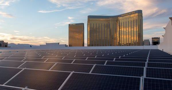 Mgm Resorts International Expands Solar Array Now Nation S Largest Solar Panels Best Solar Panels Solar