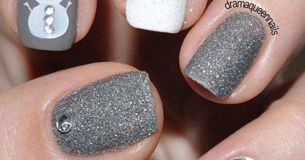 bilder von nageldesign grau n gel pinterest nageldesign grau nageldesign und grau. Black Bedroom Furniture Sets. Home Design Ideas