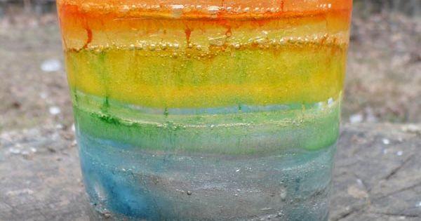 Rainbow Ice Lanterns by theenchantedtre DIY KIds Ice_Lanternsj
