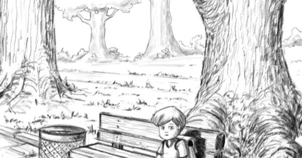 Draw Park Bench: Park Bench Sketch - Google Search