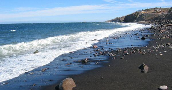 Panoramio Photo Of Playa De Arena Negra En Santa Rosalia Maui Black Sand Beach Black Sand Beach Hawaii Black Sand Beach Bali
