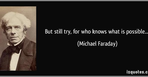 But Still Try, For Who Knows What Is Possible... (Michael