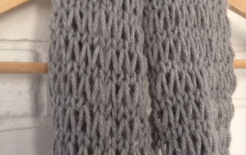 Knitting Stitches Loose : Devise. Create. Concoct. DIY Loose-Knit Infinity Scarf Knitting Pintere...
