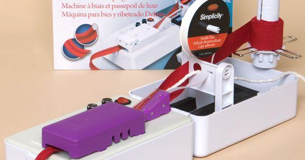 Simplicity Bias Tape Amp Piping Making Machine Looks Like A