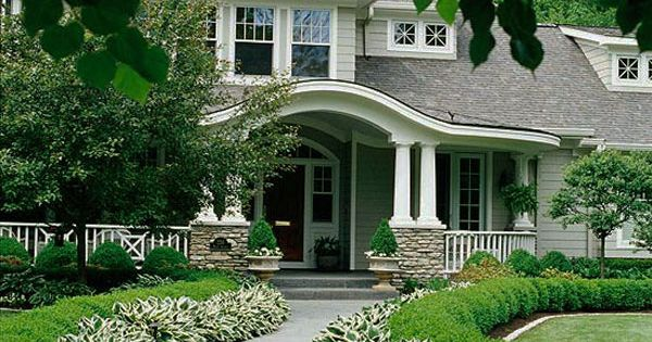 My dream home! Perfect front walk. Dress Up Your Walkway Transform your