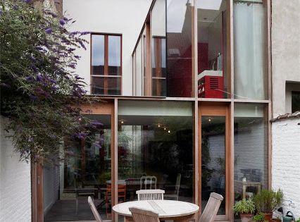 Extension d 39 une maison classique bruxelles belgique by for Extension maison 3 murs
