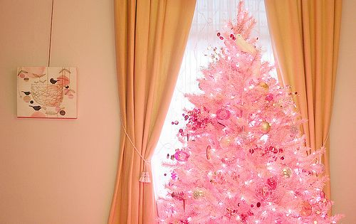 We Ll Have A Pink Christmas Making It Lovely Pink Christmas Tree Pink Christmas Faux Christmas Trees A very pink christmas playroom