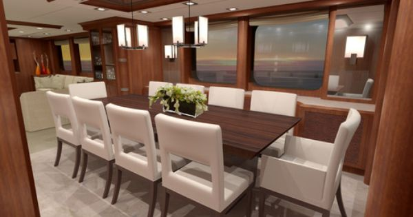 Designing under the influence part two custom yacht for Interior decoration and design influences