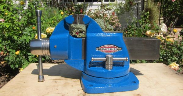 """Wilton Vise Parts >> These old Craftsman vises are very sought after. 4"""" jaw ..."""