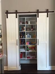 Image Result For Half Bifold Half Barn Door Combined Barn Door Pantry Remodel Bedroom Barn Door Closet