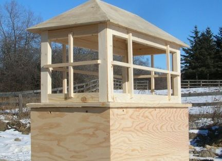Rectangular Functional Or Ornamental Cupola Hip Roof 16 By