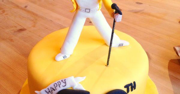 Freddie Mercury Cake Cakes Pinterest Cakes Freddie