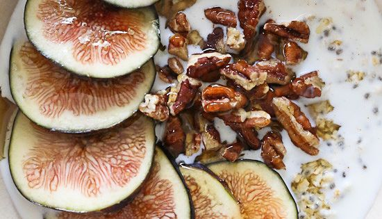 Overnight Oats with Figs and Honey | Fig season, Overnight ...