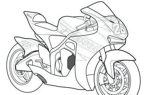 Motos De Carreras Para Colorear Coloring Pages Motorbike Art Cars Coloring Pages