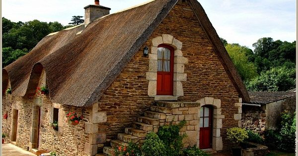 bretagne maison typique bretonne vannes basse bretagne morbihan france europe maisons. Black Bedroom Furniture Sets. Home Design Ideas