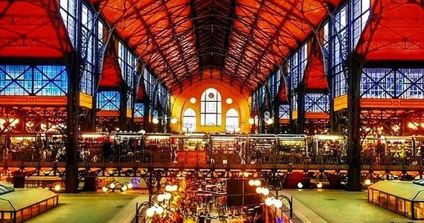Explore a local market for the day... Central Market Hall, Budapest, Hungary