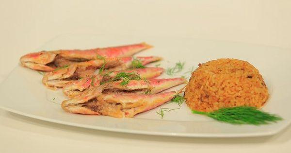 Cbc Sofra طريقة تحضير سمك بربوني مقلي هشام السيد Recipe Food Recipes Seafood
