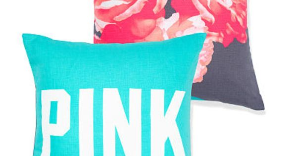 Decorative Pillows Victoria Bc : Throw Pillow ? PINK ? Victoria s Secret. I had just ordered these for my daughters room. VS ...