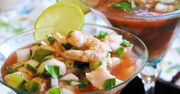 Ceviche, Ketchup and Cilantro on Pinterest